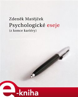 Obálka titulu Psychologické eseje (z konce kariéry)