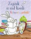 Obálka knihy Zajíček si rád kreslí - Vybarvi si příběh!