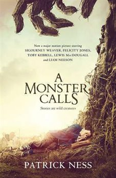 Obálka titulu A Monster Call film tie-in