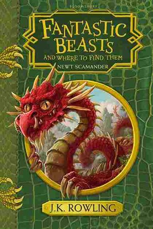 Fantastic Beast and Where to Find Them Hogwarts Library