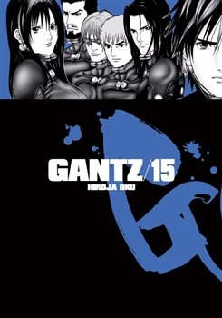 Obálka titulu Gantz 15