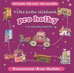 Obálka titulu Velká kniha skládanek pro holky