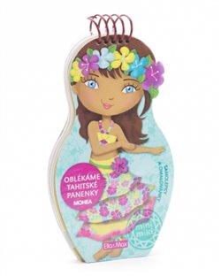 Obálka titulu Oblékáme tahitské panenky Mohea - omalovánky