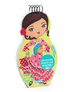 Obálka titulu Oblékáme španělské panenky Ines - omalovánky