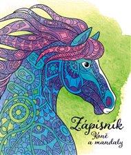 Zápisník pro holky - koně a mandaly