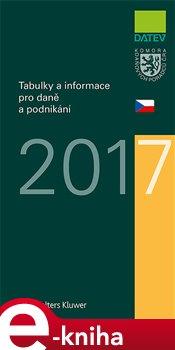 Obálka titulu Tabulky a informace pro daně a podnikání 2017