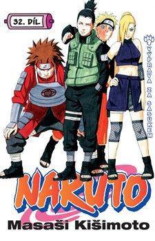 Obálka titulu Naruto 32: Výprava za Sasukem