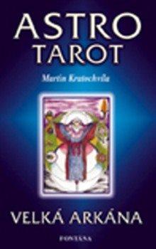 Obálka titulu Astro tarot - Kniha+22 karet