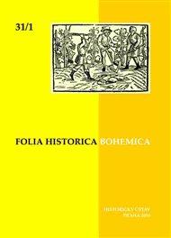 Folia Bohemica Historica 31/1