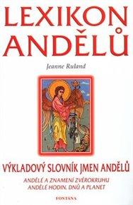 Lexikon andělů - výkladový slovník jmen andělů