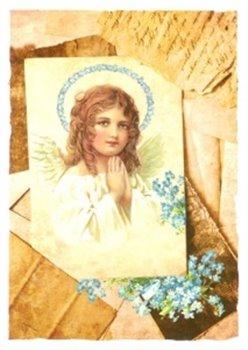Obálka titulu Pohlednice - Andělíček a svatozář