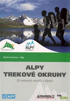Obálka titulu Alpy - trekové okruhy