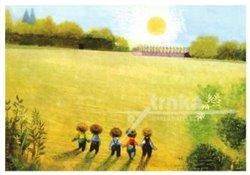 Obálka titulu Pohlednice - Zahrada pět kluků