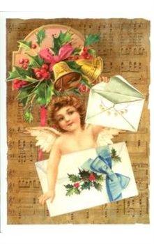 Obálka titulu Pohlednice - Vánoce, holčička a dva dopisy