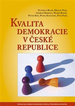 Obálka titulu Kvalita demokracie v České republice