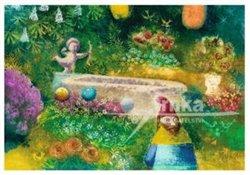 Obálka titulu Pohlednice - Zahrada, trpaslík