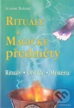 Obálka titulu Rituály a magické předměty