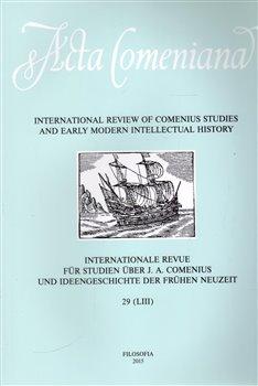 Obálka titulu Acta Comeniana 29