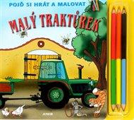 Malý traktůrek - Pojď si hrát a malovat