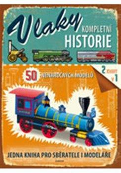 Obálka titulu Vlaky - kompletní historie