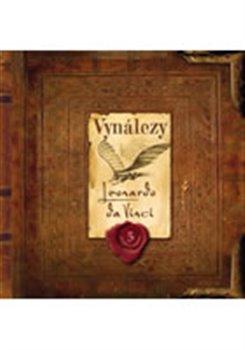 Obálka titulu Vynálezy - Leonardo da Vinci