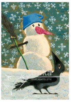 Obálka titulu Pohlednice - Sněhulák a vrána