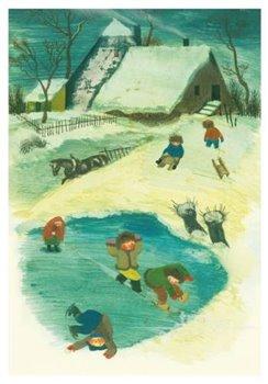 Obálka titulu Pohlednice - Zimní hry