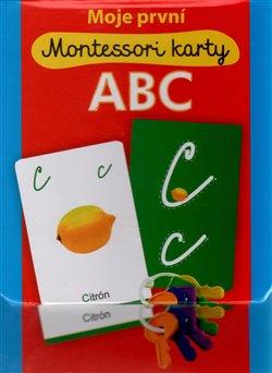 Obálka titulu Moje první Montessori karty ABC