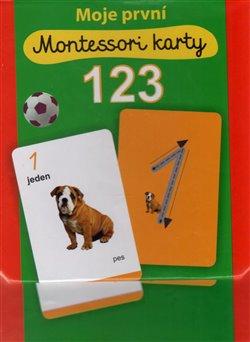 Obálka titulu Moje první Montessori karty 123