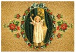 Obálka titulu Pohlednice - Vánoce, anděl se zvonkem