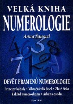 Obálka titulu Velká kniha numerologie