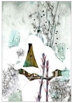 Obálka titulu Pohlednice - Broučci, zimní chaloupka