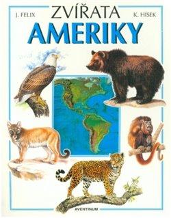 Obálka titulu Zvířata Ameriky