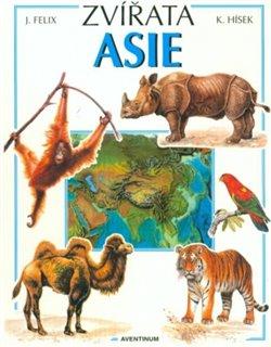 Obálka titulu Zvířata Asie