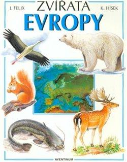 Obálka titulu Zvířata Evropy