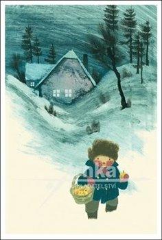 Obálka titulu Pohlednice - Chlapec s košíkem