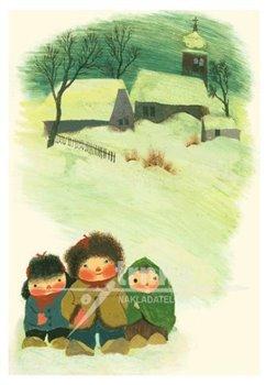 Obálka titulu Pohlednice - Děti ve sněhu