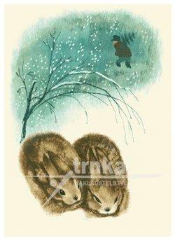 Obálka titulu Pohlednice - Dva králíčci