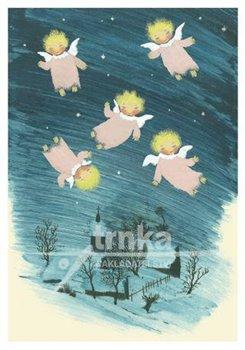 Obálka titulu Pohlednice - Vánoční andělíčci (pět)