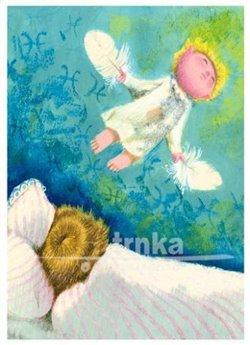 Obálka titulu Pohlednice - Zlatý věk, andělíček