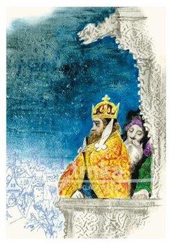 Obálka titulu Pohlednice - Staré pověsti české, Karel IV