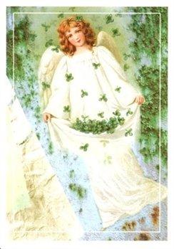 Obálka titulu Pohlednice - Andělíček a čtyřlístky