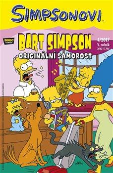 Obálka titulu Bart Simpson 4/2017: Originální Samorost