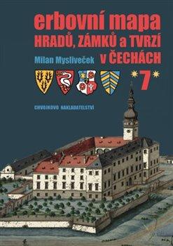 Obálka titulu Erbovní mapa hradů, zámků a tvrzí v Čechách 7