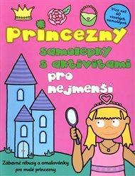 Princezny - samolepky s aktivitami pro nejmenší