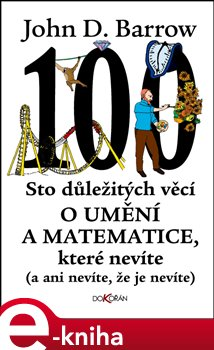Obálka titulu Sto důležitých věcí o matematice a umění, které nevíte (a ani nevíte, že je nevíte)