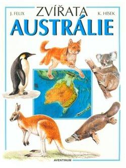 Obálka titulu Zvířata Austrálie