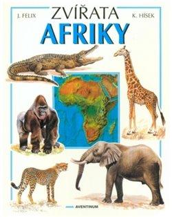 Obálka titulu Zvířata Afriky