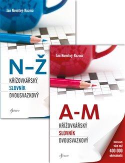 Křížovkářský slovník dvousvazkový - Jan Novotný-Kuzma