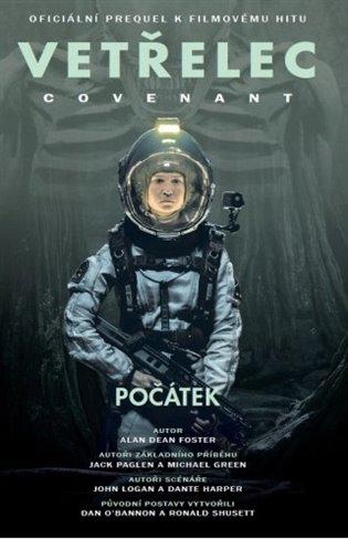 Vetřelec - Covenant - oficiální prequel k filmovému hitu - Alan Dean Foster | Booksquad.ink